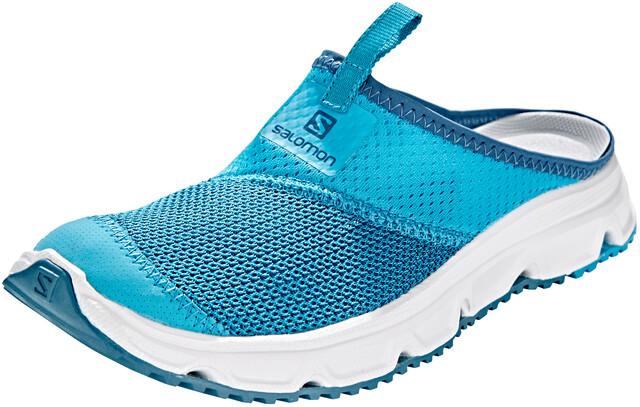 Salomon RX Slide 4.0 Chaussures Femme, caneel baywhitemallard blue